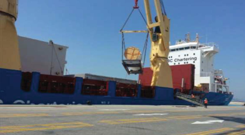 1st General Cargo Discharge at KAP